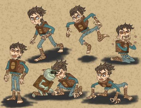 the boxtrolls: fish it life boxbaby by boxgood67
