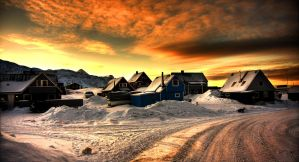 Polar sunrise II by chilouX