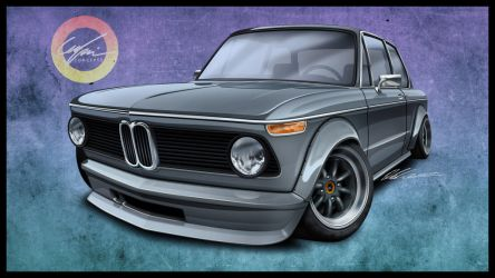 BMW 2002 by dazza-mate