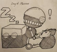 Day 4 : MACHINE by alleycatwoman127