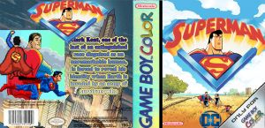 Superman On Game Boy Color by LOrdalie