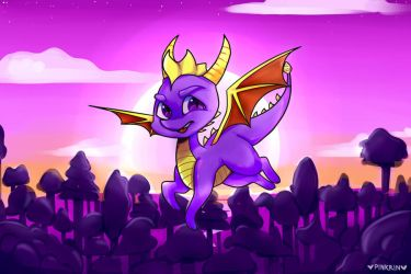 request: Spyro the dragon by PinkRin13