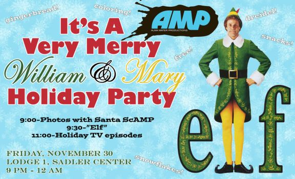 It's A Very Merry William and Mary Holiday Party by tjjwelch