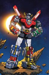 Voltron: FTA issue 1 cover by markerguru