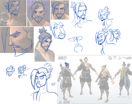 Hanzo practice by Molo-CWH