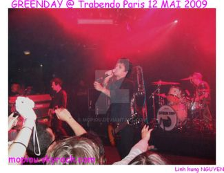 GREENDAY LIVE  PARIS MAY 2009 by mopiou