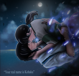 [Chihiro x Haku] Your real name.. by xXMarilliaXx