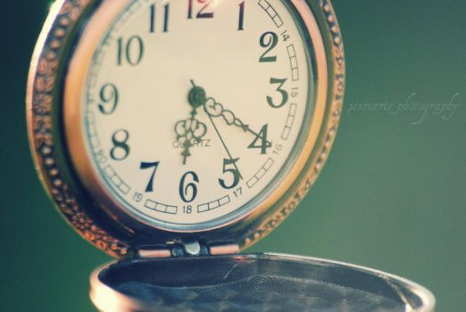 time is of the essence. by jenmarie123
