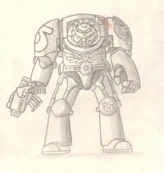 Space Marine Terminator by MadOttsel