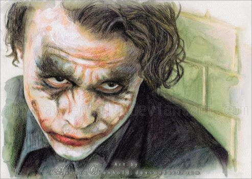 The Joker by RoryonaRainbow