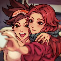 Tracer's Christmas by umigraphics