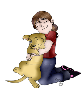 Me In Real Life With My Pet Crystal by SpeedDrawStarlight13