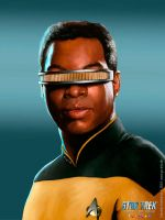 Geordi La Forge by GS-Arts