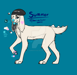 Summer Reference Sheet by SummerSpaniel