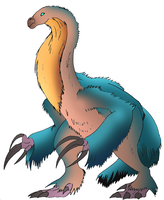 Therizinosaurus (my take) by NickOnPlanetRipple
