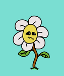 Underinspired Flowey {GIFT} by FadingRiver