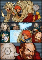 DDComic Is01Pg11A Colors by LRVisualStudio
