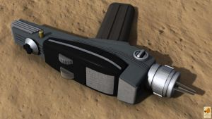 TOS Type II phaser by thefirstfleet