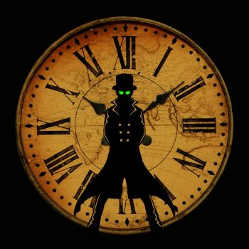 Man In the Clock by tophats96