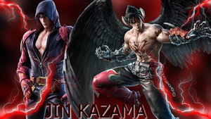 Jin Kazama Tekken 7 Wallpaper by NatouMJSonic