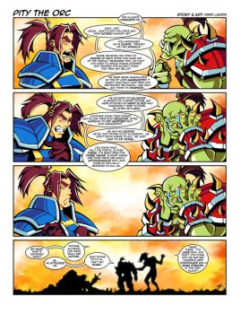 WoW Comic - Pity the Orc by Lukali
