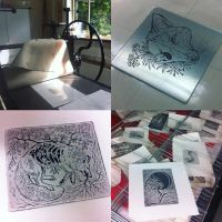 Etchings by Maquenda
