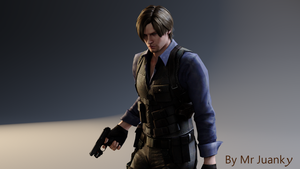Leon S. Kennedy Asia Outfit RE6 by mr-juanky