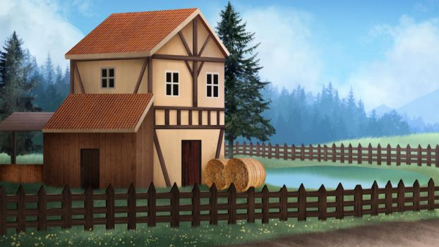 ranch - visual novel BG by gin-1994