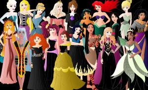 All Evil Princesses by Willemijn1991