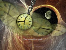 Time Resembles to Light by dah-ni
