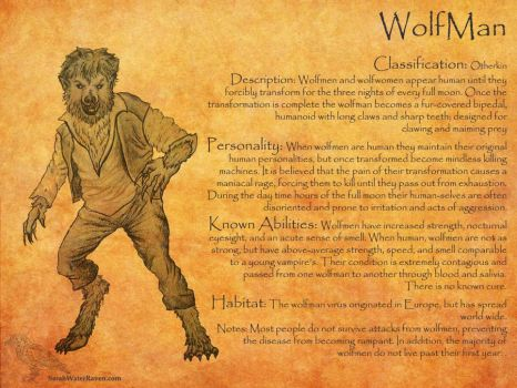 Wolfman Profile by SarahWaterRaven