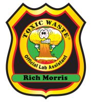 Toxic Waste Lab Assistant Badge! by Gorpo