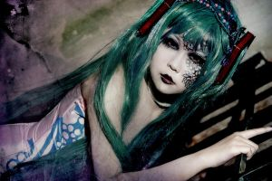 Vocaloid - Dark Woods Circus Miku by Xeno-Photography