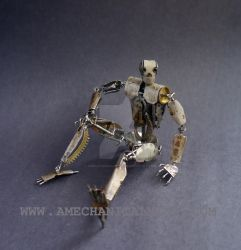 Number 5 (Articulated Watch Parts Figure) II by AMechanicalMind