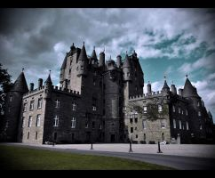 Glamis Castle by Purplejackdaw