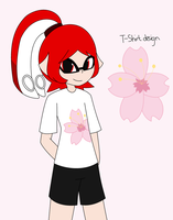 Splatoon OC - Cherry Blossom by xXkerrysweetXx
