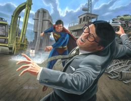 Evil Superman vs. Clark Kent  Final by Habjan81