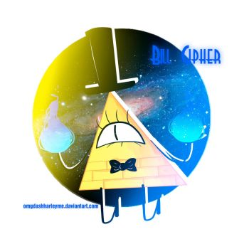 Bill Cipher~~ by omgdashharleyme