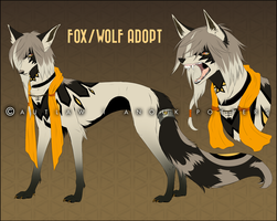 Fox/wolf adoptable [SOLD] by Autlaw