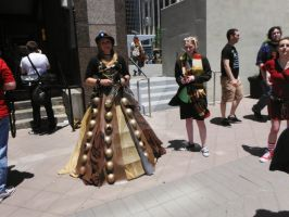 Human Dalek  Female 4th Doctor by DavisJes