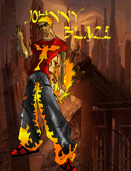 johnny blaze by Jiinn
