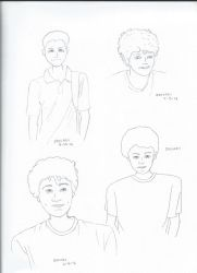 Zachary Sketches by Chuymage