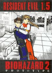 Roy and Elza-Resident Evil 1.5 by EzraBladerunner
