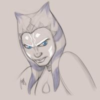 Fierce Ahsoka Tano by Nuriet