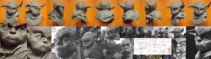 Making Yoda by 3dmetrius