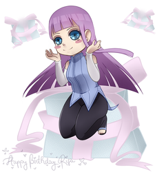 Happy Birthday Risa by liamsi4