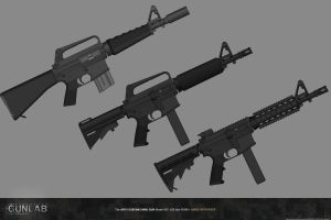 PSGP: AR15 SMG by PSGunlabProject