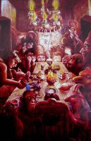 the magician's tea party by rodulfo