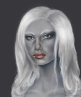 Viconia from Baldur's Gate by skitty2