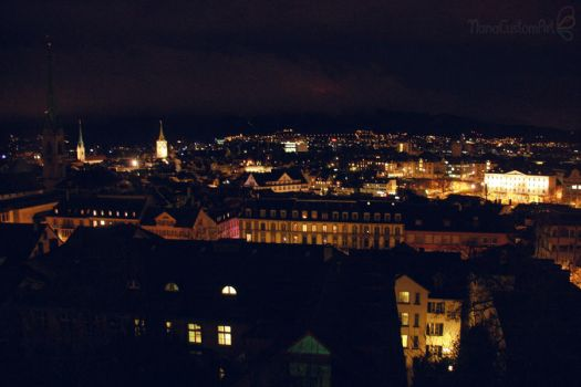 Zurich by night 2 by maiko-chan